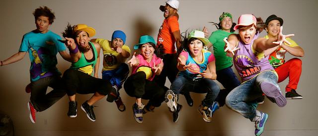 Hip hop teens